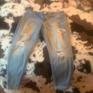 Maurices distressed jeggings